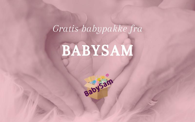 Gratis babypakke fra Babysam