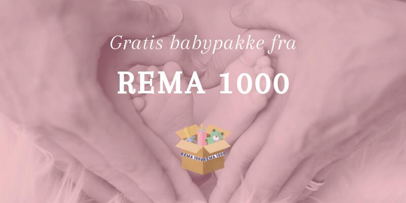 Rema 1000 babypakke